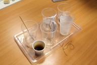 postup dlouhodobého experimentu se solným roztokem